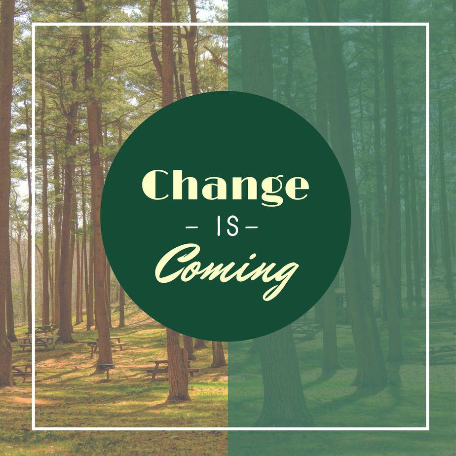 Change is Coming - The Finlay Family Blog