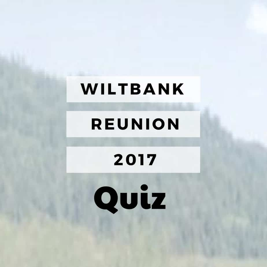 Wiltbank Reunion 2017 Quiz